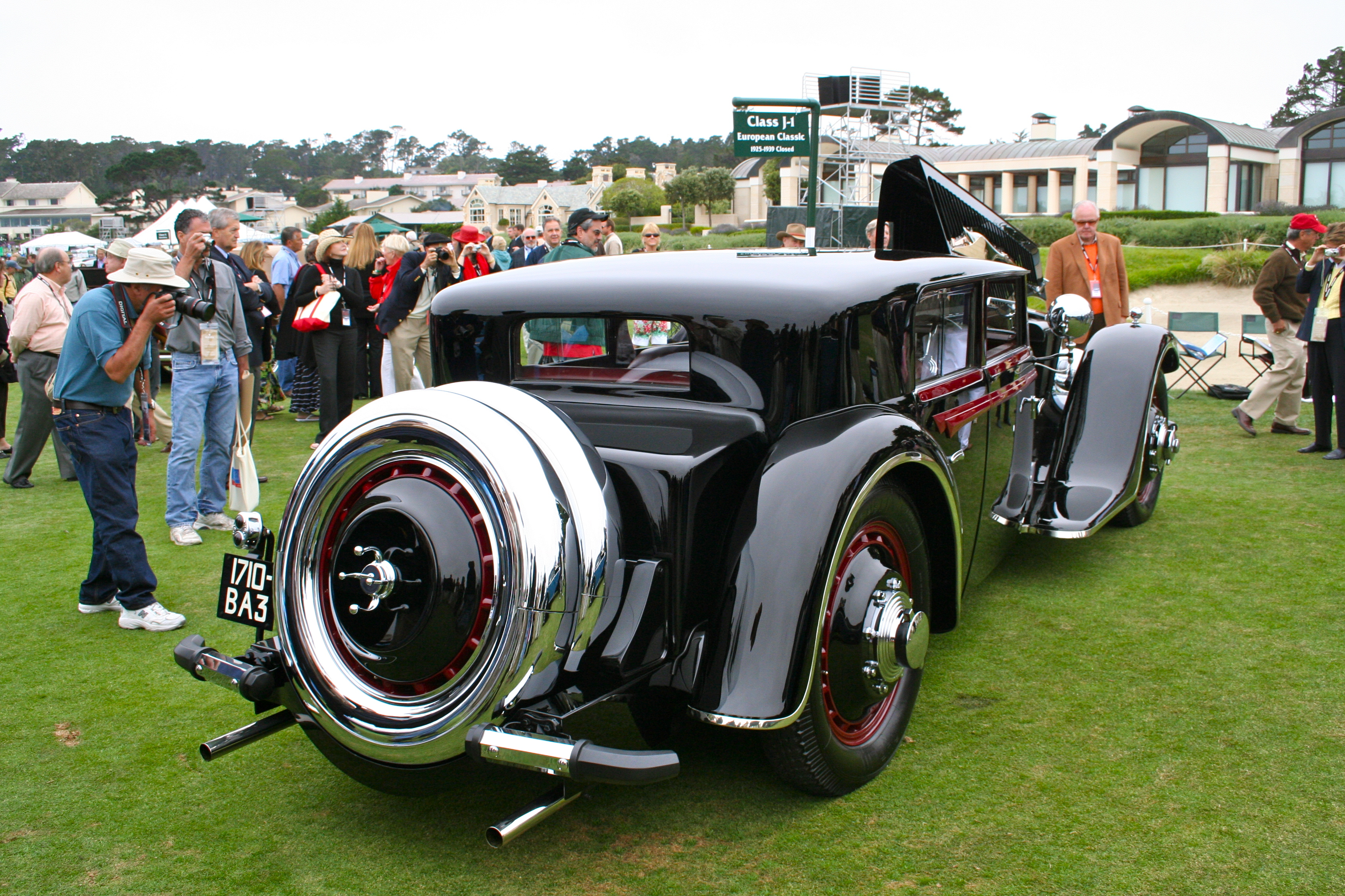 Concours d elegance for Pebble beach collection
